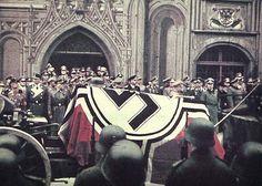 Erwin Rommel's funeral. October 1944