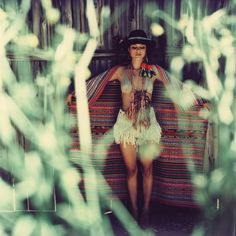 Photographed by: Amanda Zazi Charchian  Styled by: Prism Of Threads & Daughter of the Sun  Model: Nathalie Kelley