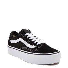32abf6db6c8c Vans Old Skool Platform Skate Shoe