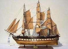 USS Constitution XL Model T103 by Old Modern Handicrafts