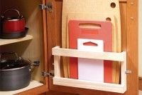 Some of these things are so simple, I really wonder why I haven't thought about it already!! Cutting board storage...duh!