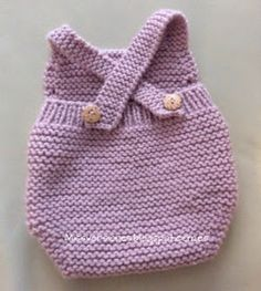 I'll have find Crochet Romper, Knit Or Crochet, Crochet For Kids, Crochet Baby, Knitting For Kids, Sewing For Kids, Baby Knitting, Tricot Baby, Handmade Baby Quilts