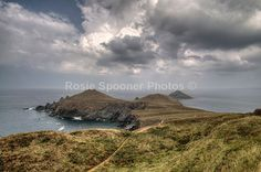 Clouds over The Rumps North Cornwall - Cornwall Misc