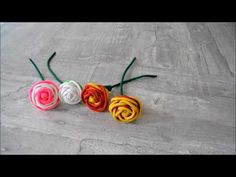 How to make Paracord Roses - YouTube
