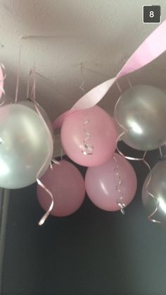 Cool way to hang no helium balloons
