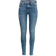 Shaping Skinny Regular Jeans (€13) via Polyvore featuring jeans, super stretchy skinny jeans, skinny leg jeans, stretchy jeans, skinny fit jeans en denim skinny jeans