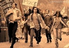 Protest for Peace photography peace vintage protest hippy war historical 60s Vietnam
