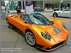 The Pagan Zonda got a lot of attention from photographers and sports car enthusiasts in the London Motorexpo at Canary Wharf.    Sports Car in London Motorexpo     http://timemart.com.vn/  http://timemart.com.vn/may-lam-kem/