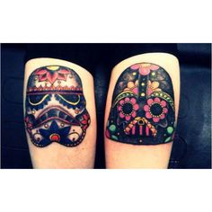 Awesome Star Wars tattoos. | my kind of art | Pinterest