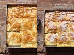 Placinta greceasca cu crema de gris coapta Sweets Recipes, Cookie Recipes, Good Food, Yummy Food, Romanian Food, Dessert Drinks, Good Healthy Recipes, Diy Food, Chocolate Recipes