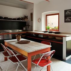 Explore our kitchen design ideas on HOUSE - design, food and travel by House & Garden, including this glorious tower kitchen by Bruno Sacchi. Kitchen Units, Kitchen Cabinets, Medieval Tower, Kitchen Words, Orange Kitchen, Dinner Is Served, Lamp Light, Florence, Home And Garden