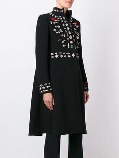 Alexander McQueen 'Obsession' oversized coat