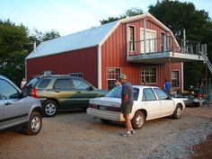 real metal barn cool huh its my sisters