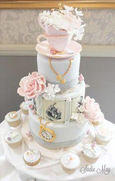 Alice by Sharon Sadie May Cakes - http://cakesdecor.com/cakes/246817-alice