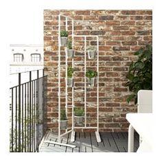 SOCKER Piedestal, indendørs/udendørs, hvid - IKEA