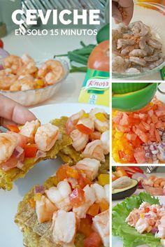 """Almuerzo """"Express"""" - Ceviche de Camarones - CuponeandoPR.net"""