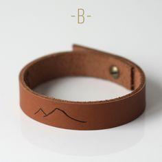 Image of Bracelet cuir • Homme