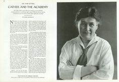 Willa Cather, 1927. Edward Steichen, a titan in photo history, was born a hundred and thirty-three years ago today. On our Photo Booth blog, a look at the Steichen photographs that have been published in The New Yorker: http://nyr.kr/GUYNnz