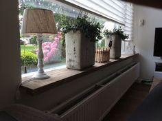 Steigerhout vensterbank