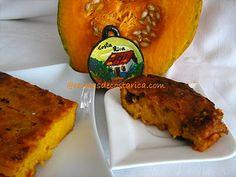 Cocina Costarricense: pastel dulce de ayote