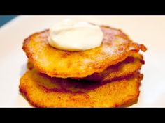 Potato Pancakes - Placki Ziemniaczane - Ania's Polish Food Recipe #1