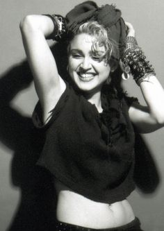 The photo session by Gary Heery that appeared on Madonna's first album. 1983..