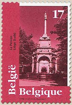 belgian stamps Tourisme : European Monuments Day. Liege