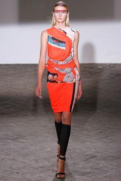 Cédric Charlier Spring 2013 Ready-to-Wear Fashion Show - Sigrid Agren (Elite)