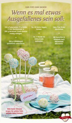 Schöne Idee für den freien Nachmittag: Cake-Pops ohne Backen. Lass Dich von den Rezept- und Genuss-Tipps aus dem Géramont Glückskäse verführen! #cestbon