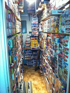 Here is a 4 x 9 room full of some more of my model car kits.