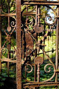 The Rusting Iron Gate Public Domain Free Photos For Download The Rusted Lock Pinterest Iron Gates