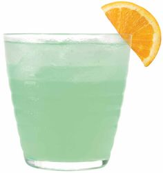 The Shamrocker  1 oz. 1800 Silver Tequila  1 oz. Melon Liqueur  1/2 oz. Triple Sec  Splash of Orange Juice  Mix with ice, and garnish with an orange slice
