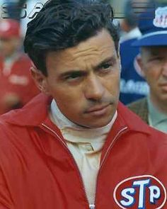 1966 Indianapolis 500 Jim Clark 8x10 Portrait Photo STP Lotus Ford Jimmy Indy