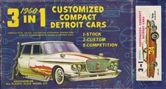 1/32 Palmer 1960 Dodge Phoenix Customized Compact Detroit Cars