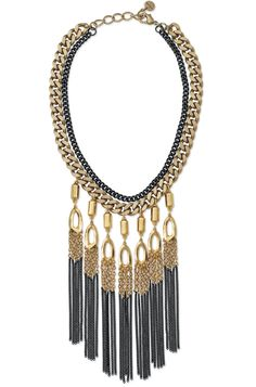 Stella & Dot Lillith Fringe Necklace- Fall 2012 Collection