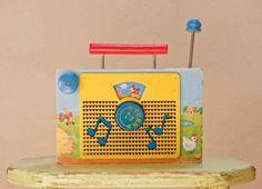 Radio #fisher_price #vintage