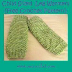 Crochet, Free Crochet Pattern, Leg Warmers, Legwarmers, crochet leg warmers, crochet leg warmers for kids