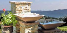 Swimming Pool Water Bowl Features | Premier Designer & Manufacturer of Quality Water Features