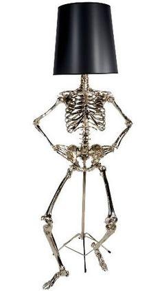 Skeleton Lamp by Zia-Priven