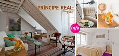 Stay in the uniquely-designed apartments of the Baixa House in Lisbon, Portugal.