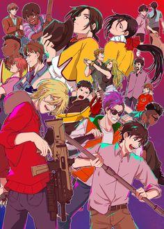 Manga Anime, Me Anime, Anime Art, Wall Prints, Poster Prints, Poster Anime, Japanese Poster Design, Fish Wallpaper, Manga Covers
