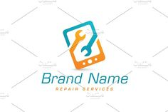 Synergy Fix Logo Templates Logo design with concept of two stylized wrench shapes, interlocked together to form phone or tablet by Zack Fair Design Bookmark Template, Journal Template, Binder Templates, Logo Templates, Design Templates, Light Bulb Logo, Maintenance Logo, Mobile Phone Logo, Security Logo