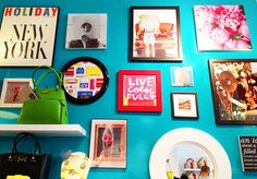 Fabulous K: Snapshots from Austin // Gallery Wall (Inspiration Kate Spade)