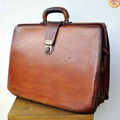 I can change my initials if they give me a discount....E&L Adams Vintage Leather Briefcase $295