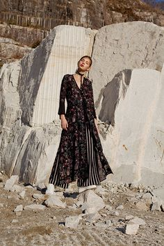 Fall Inspiration: Mame - Blue is in Fashion this Year Autumn Inspiration, Style Inspiration, Fashion Labels, Japanese Fashion, Fall Dresses, Winter Collection, Editorial Fashion, Fashion Shoot, Fashion Photography