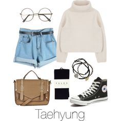 Taehyung Inspired w/ Converse