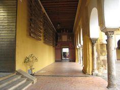 detalle del interior del Patio de los Naranjos.