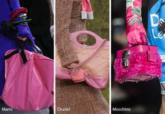 Fall Winter 2018 2019 Handbag Trends Pink Bags Purses Handbagsaffordable