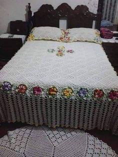 Crochet. Hermosos trabajos para el hogar
