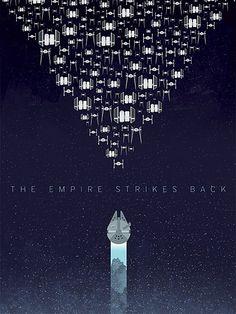 Minimalist Star Wars Posters | The Miniblog of Designer Mark Wu